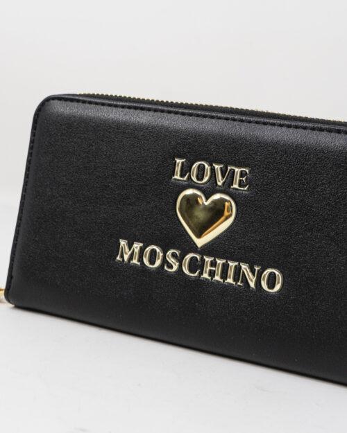 Portafoglio grande Love Moschino CUORE Nero – 77492