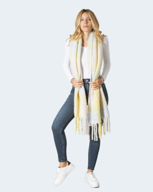Sciarpa Only ONLSUNNY LIFE CHECKED SCARF – 15237156 Beige – 71833