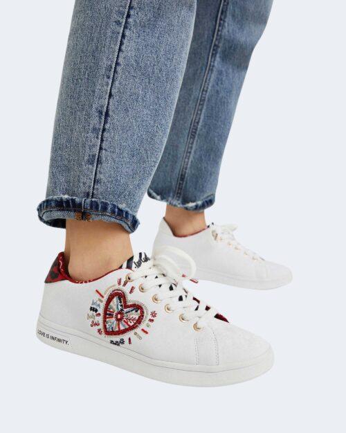 Sneakers Desigual COSMIC HEART Bianco – 73258