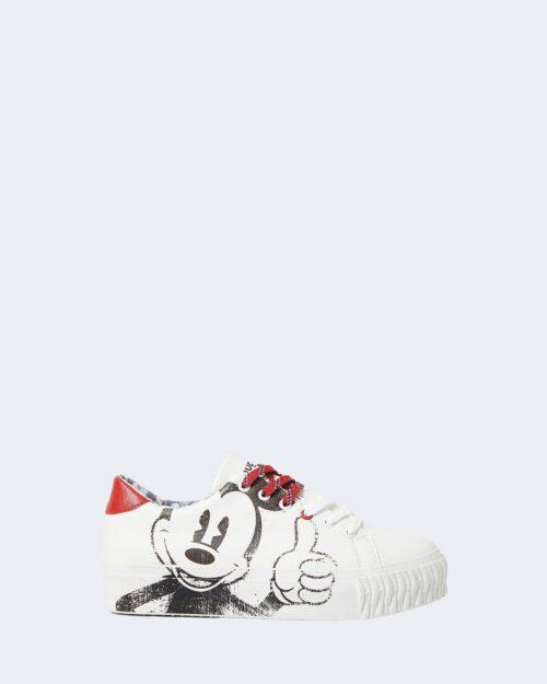 Sneakers Desigual street_mickey Bianco – 76970