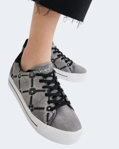 Sneakers Desigual STREET EYE TIGER Grigio – 74540