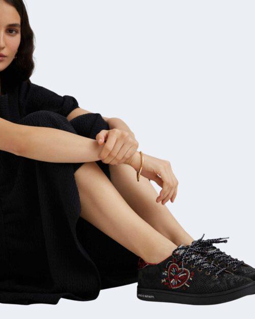 Sneakers Desigual COSMIC HEART Nero – 73258