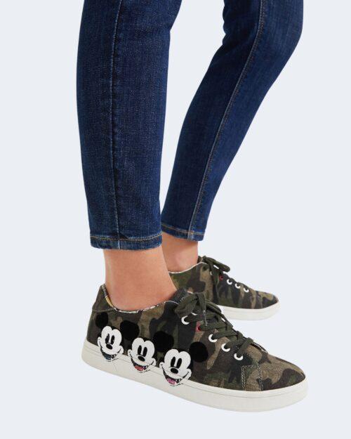 Sneakers Desigual COSMIC MICKEY Verde Oliva – 76945