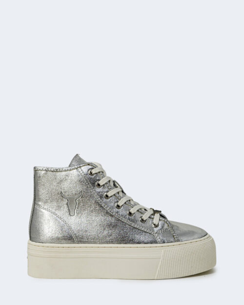 Sneakers Windsor Smith SILM Argento – 76827