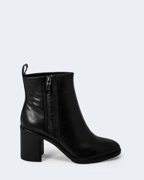 Stivali Calvin Klein BLOCK HEEL MID BOOT Nero – 72013