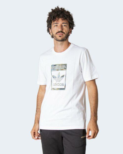 T-shirt Adidas CAMO INFILL Bianco – 77728