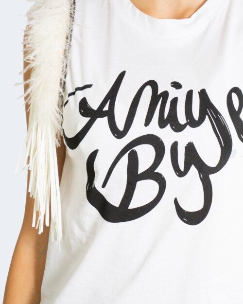 T-shirt Aniye By FLUFFY Bianco – 76679