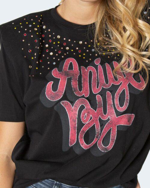 T-shirt Aniye By KRISTAL Nero – 77801