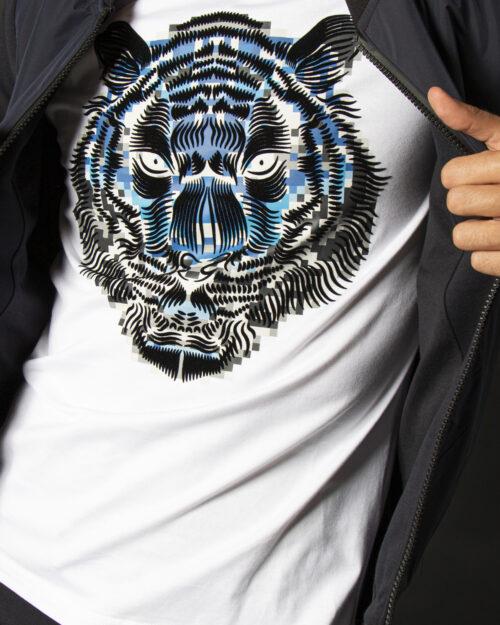 T-shirt Antony Morato T-SHIRT SLIM FIT IN COTONE CON 0010723 – FA100227 Bianco – 72715