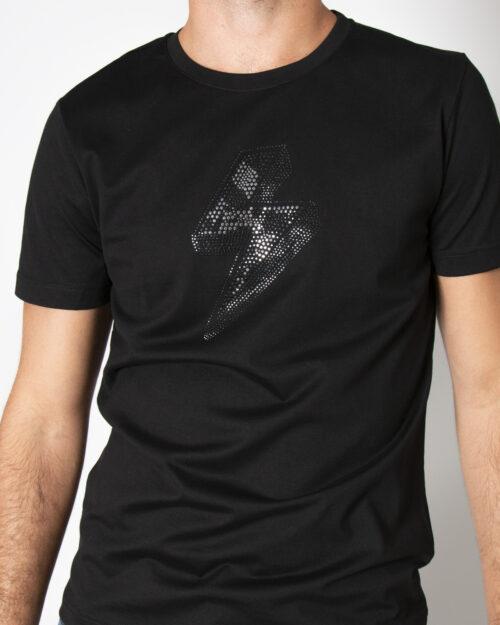 T-shirt Antony Morato SLIM FIT IN COTONE Nero – 72716