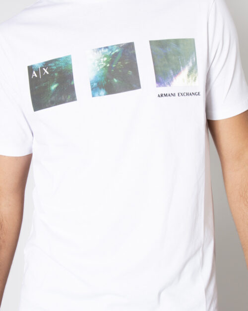 T-shirt Armani Exchange T-SHIRT 6KZTLE ZJH4Z Bianco – 72511