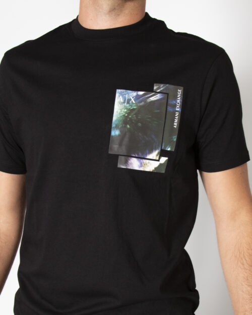 T-shirt Armani Exchange T-SHIRT 6KZTLD ZJH4Z Nero – 72510