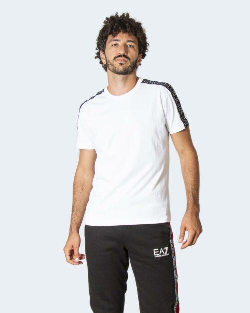 T-shirt Calvin Klein SHADOW SHOULDER TAPE J30J318737 Bianco – 71962