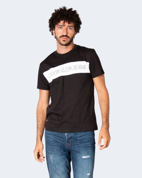 T-shirt Calvin Klein COLORBLOCK SHADOW Nero – 71965