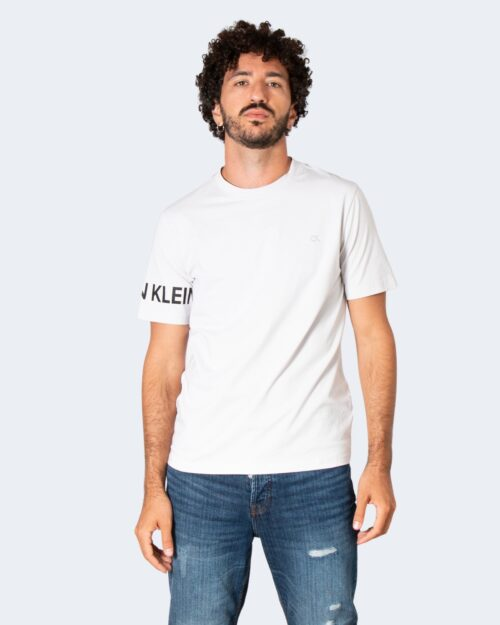 T-shirt Calvin Klein Performance PW – S/S T-Shirt 00GMF1K100 Grigio Chiaro – 71981