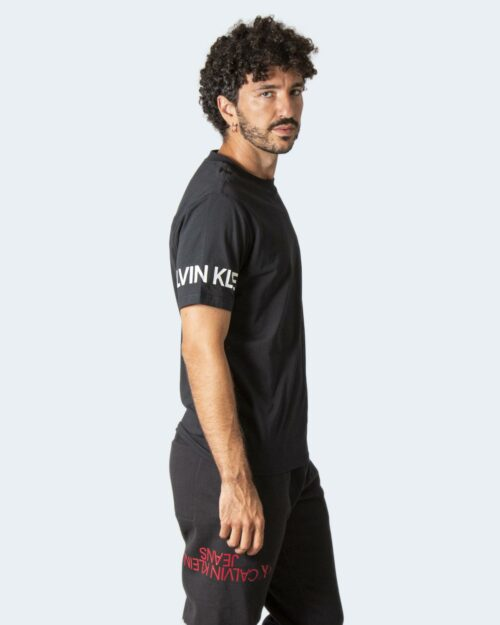 T-shirt Calvin Klein Performance PW – S/S T-Shirt 00GMF1K100 Nero – 71981