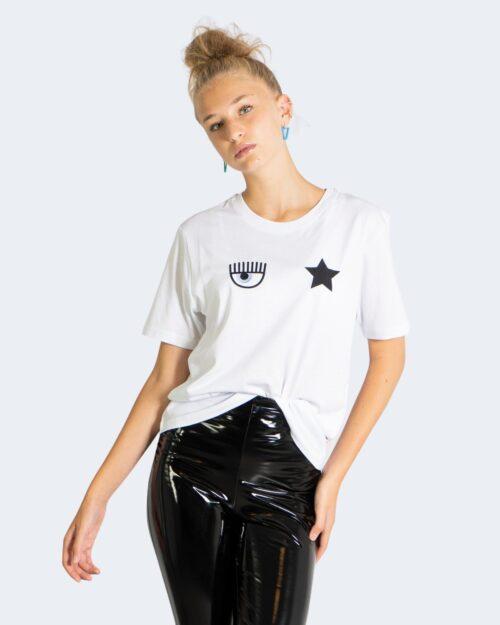 T-shirt Chiara Ferragni EYESTAR COTTON FAIRY Bianco – 76762