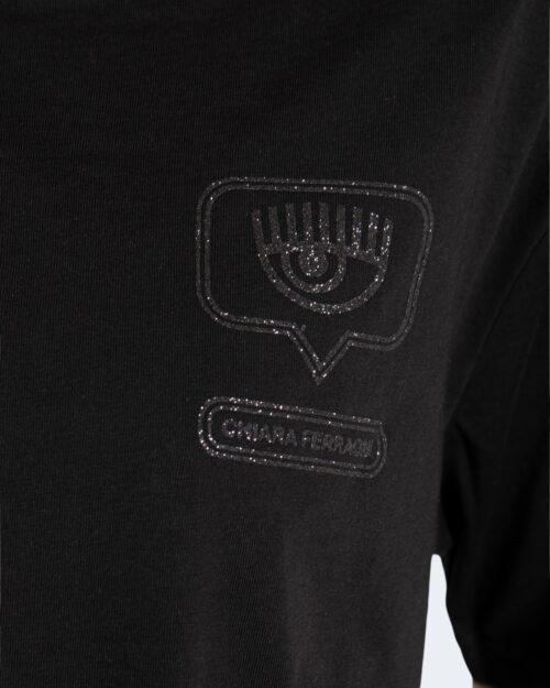 T-shirt Chiara Ferragni GLITTER EYELIKE Nero – 76793