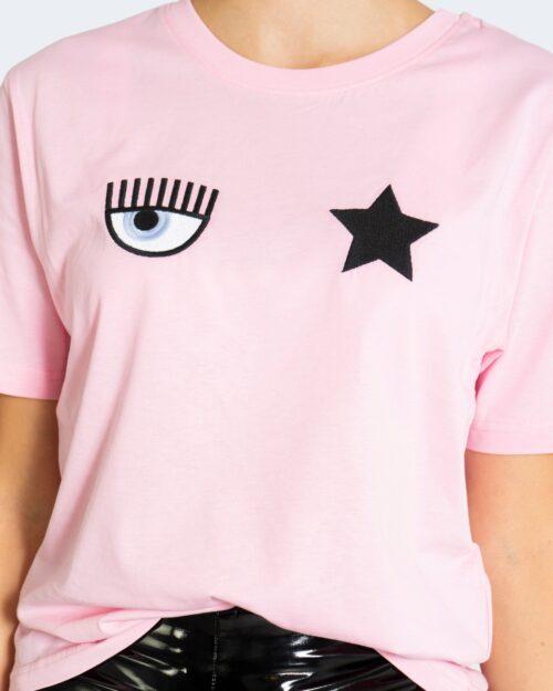 T-shirt Chiara Ferragni EYESTAR COTTON FAIRY Rosa – 76762