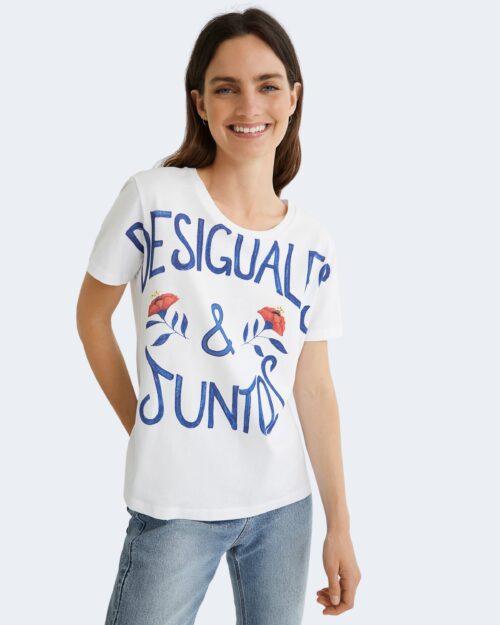 T-shirt Desigual ES Y JUNTOS Bianco – 76489