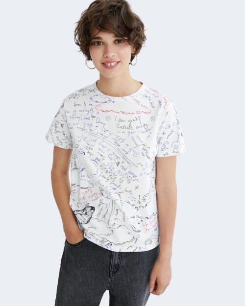 T-shirt Desigual ELIZABETH Bianco – 73408