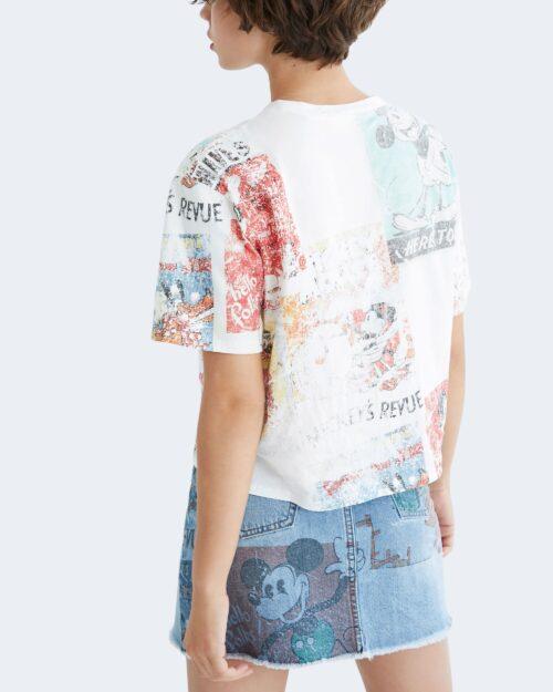 T-shirt Desigual VINTAGE Bianco – 73379