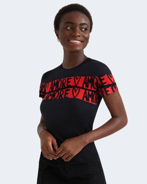 T-shirt Desigual AMORE Nero – 76477