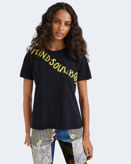 T-shirt Desigual SOFONISBA Nero – 76478