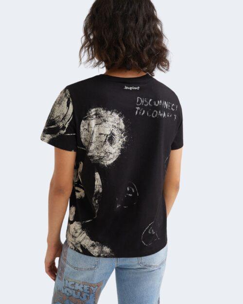 T-shirt Desigual MICKEY Nero – 73275