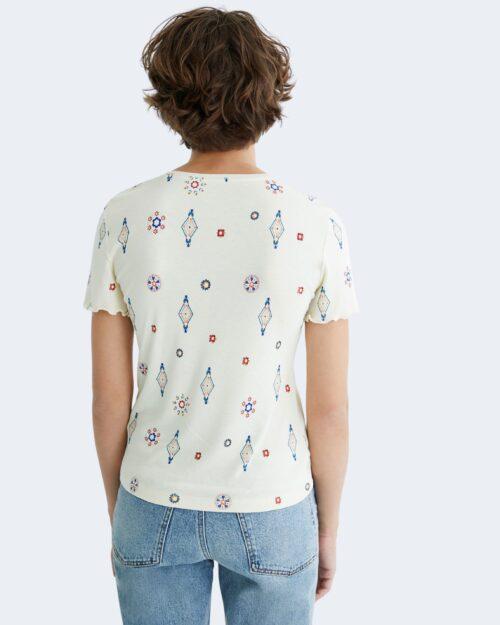 T-shirt Desigual GIUPESSA Panna – 73329