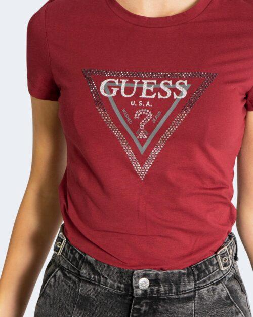 T-shirt Guess AMALUR Bordeaux – 76829