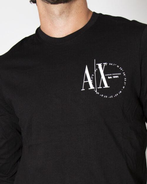 T-shirt manica lunga Armani Exchange T-SHIRT 6KZTFR ZJ1DZ Nero – 72504