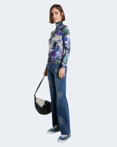 T-shirt manica lunga Desigual INAYA Blu – 73207