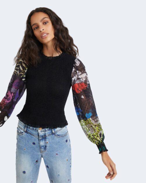 T-shirt manica lunga Desigual HAMBURGO Nero – 76474