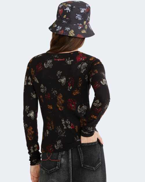 T-shirt manica lunga Desigual MICKEY LOVERS Nero – 74569