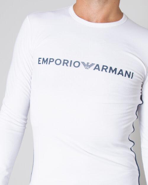 T-shirt manica lunga Emporio Armani CREW NECK Bianco – 76919