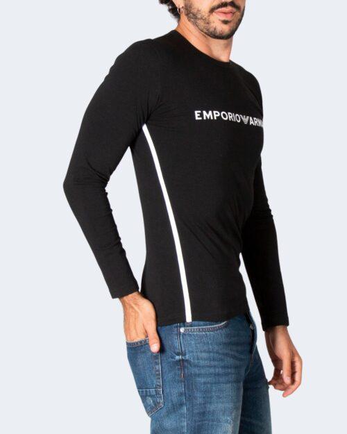 T-shirt manica lunga Emporio Armani CREW NECK Nero – 76919