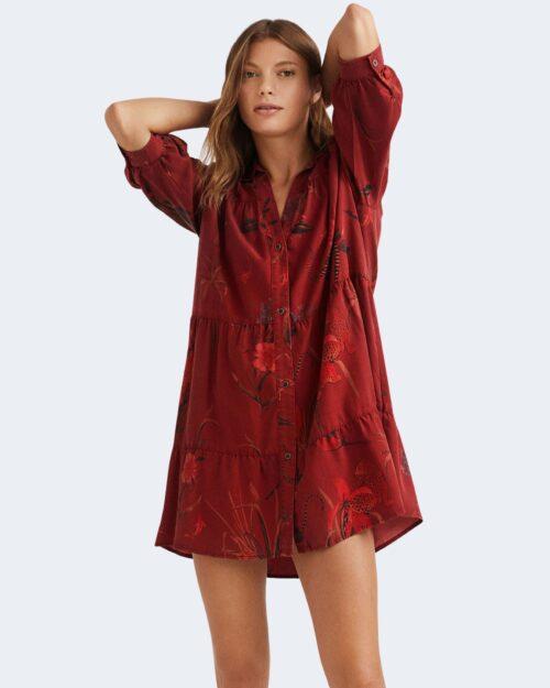 Vestito corto Desigual SEVILLA Bordeaux – 76485