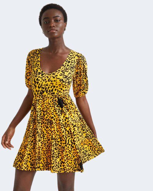 Vestito corto Desigual AKROM Giallo – 73452