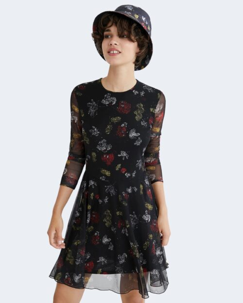 Vestito corto Desigual MICKEY LOVERS Nero – 76499