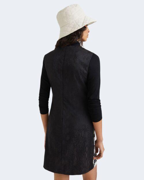 Vestito corto Desigual VEST HAMBURGO 21WWVW65 Nero – 73421