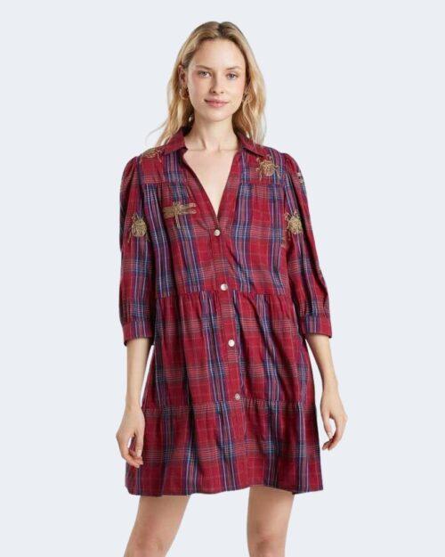 Vestito corto Desigual dora maar Rosso – 76975