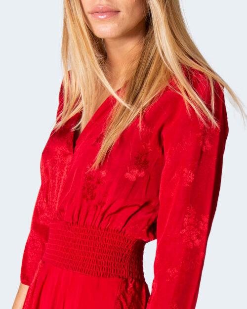 Vestito lungo Desigual Vest bangkok Rosso – 61678