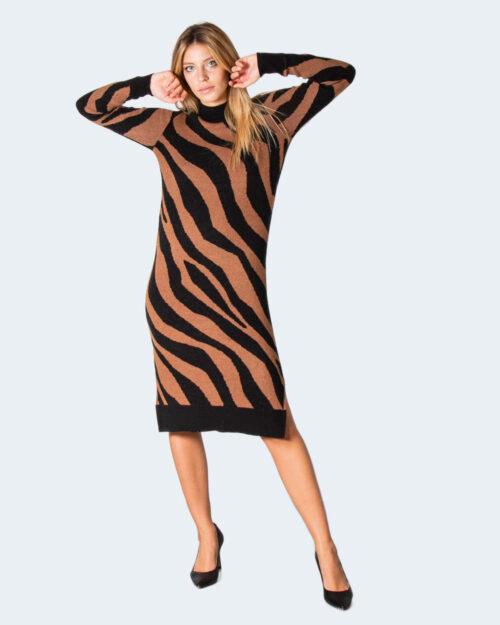 Vestito midi Vila Clothes VIRIL CREW NECK Nero – 78012