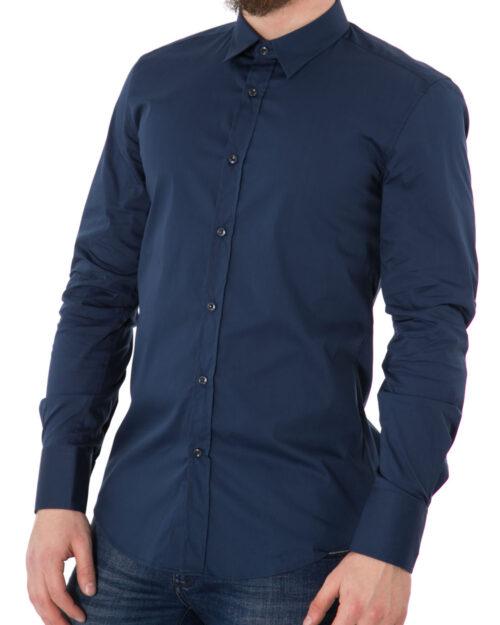 Camicia manica lunga Antony Morato MMSL00375/FA450001 Blu Chiaro – 11945
