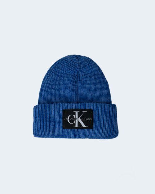 Berretto Calvin Klein MONOGRAM Blu Chiaro – 76840