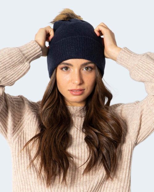 Berretto Only ONLSIENNA LIFE KNIT BEANIE CC – 15233747 Blue scuro – 71835