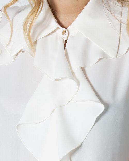 Blusa manica corta Rinascimento 2STA TOP Panna – 79399