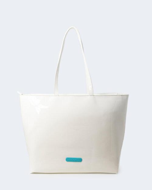 Borsa Chiara Ferragni SKETCH 08 BAGS PATENT Bianco – 79422