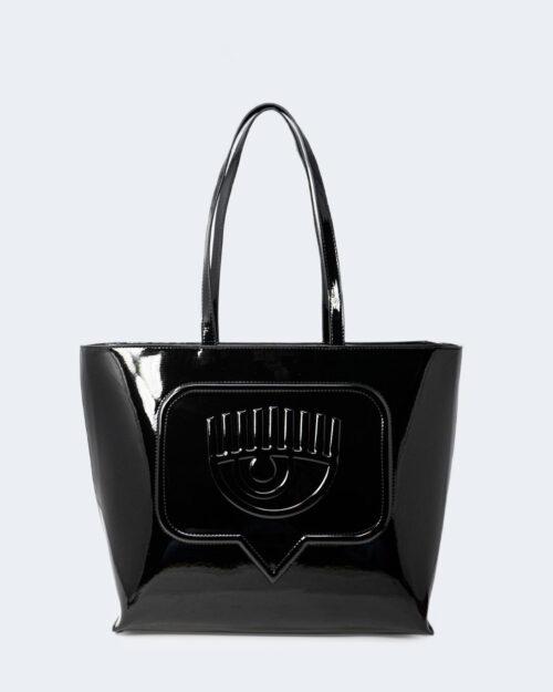 Borsa Chiara Ferragni SKETCH 08 BAGS PATENT Nero – 79422